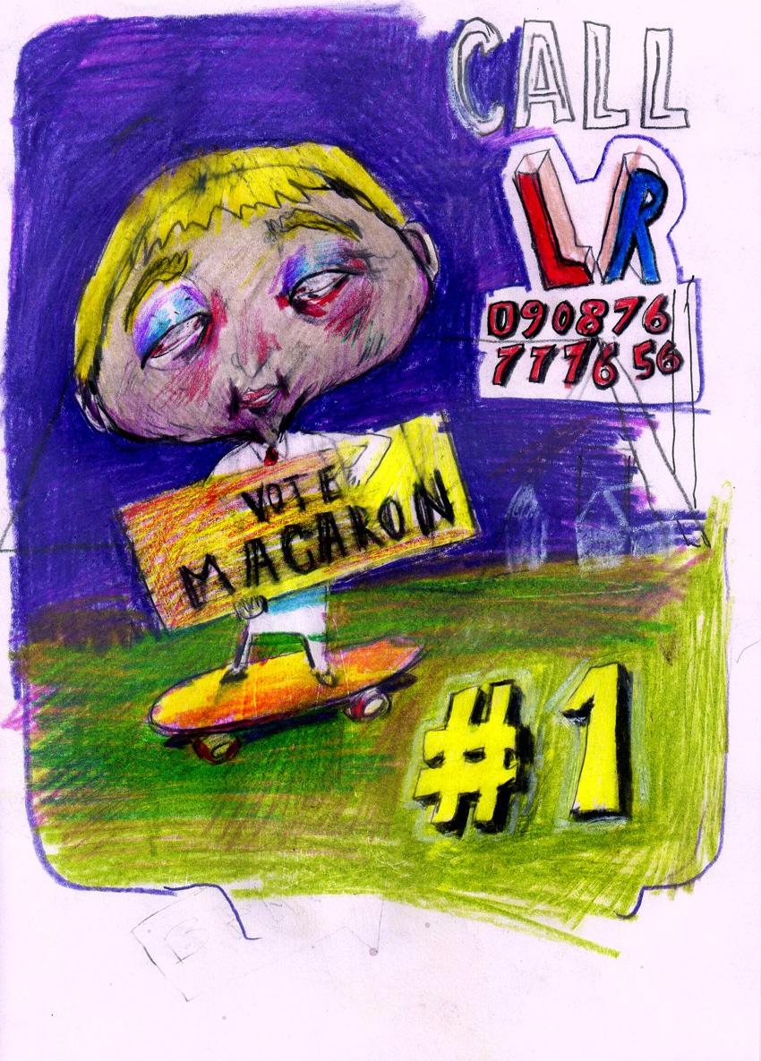 Vote Macaron